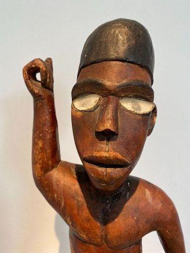 Bakongo Male Figure - Congo
