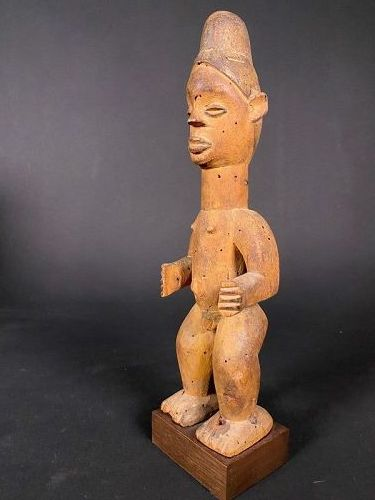 Standing Male Figure, Ibibio - Nigeria