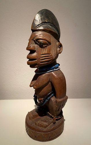 Yoruba Twin Figure 'Ere Ibeji' ex Ursula Voorhuis