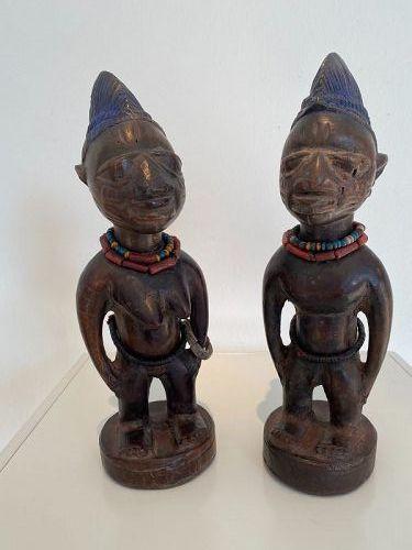 Yoruba 'Ere Ibeji' pair ex Ursula Voorhuis.