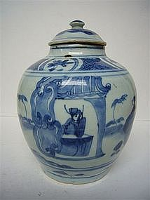 Chinese Transitional Jar