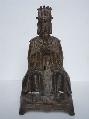 Ming Dynasty Bronze Dignitary