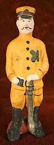 Rare Fushimi Clay Figure of a Sino-Japanese War Soldier