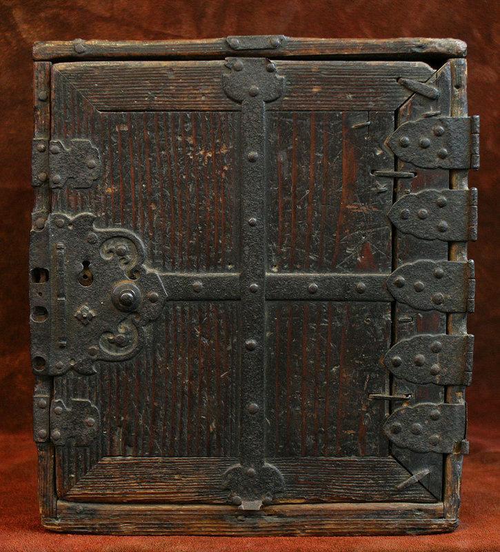 Edo Period Japanese Safe