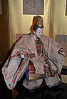 Japanese Meiji Period Musha Ningyo Doll of Emperor Ojin