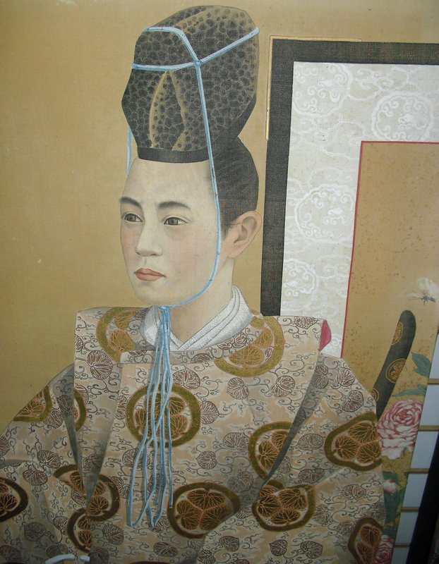 Pair of Masterpiece Paintings of an Imperial Couple