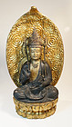 Fine Edo Period Sho Bosatsu Kannon in Rare Excellent Condition