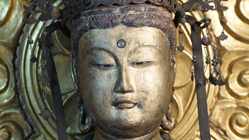 Fine Edo Period Sho Bosatsu Kannon in Rare Excellent Condition