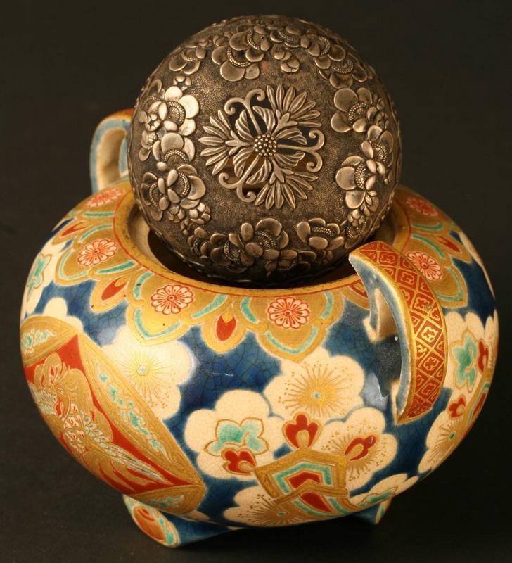 Exceptional, Intricate, Fine Edo Period Satsuma Censer
