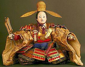 Musha Ningyo of Toyotomi Hideyoshi, Unifier of Japan