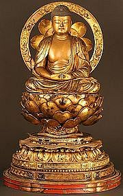 Museum Quality Masterpiece of 18th C Buddhist Sculpture