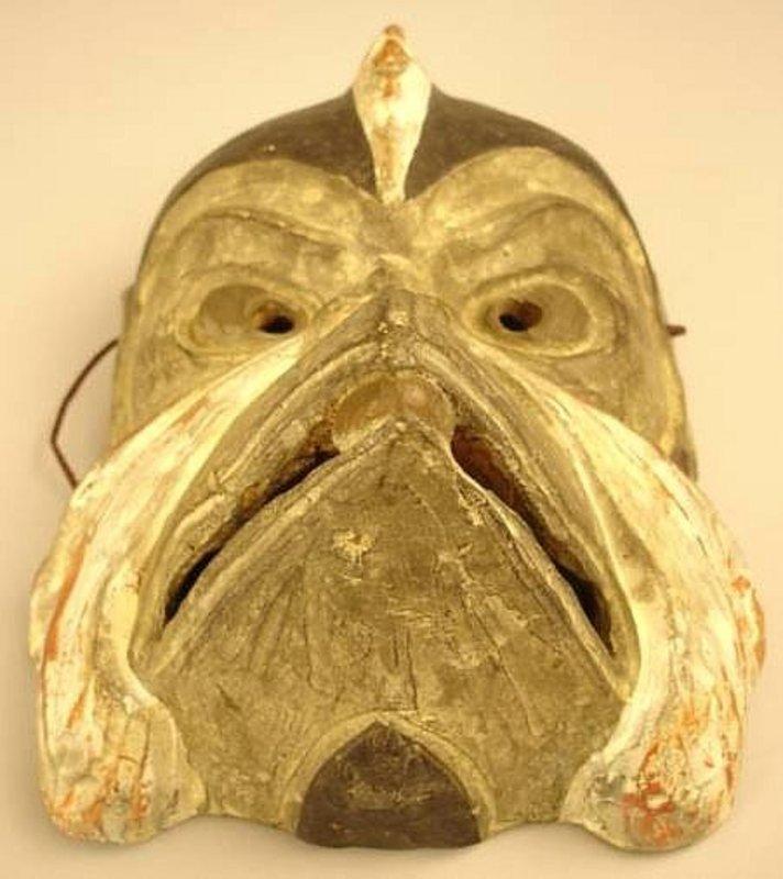 Wonderful Clay Mask of the Devilish Forest Spirit,Tengu