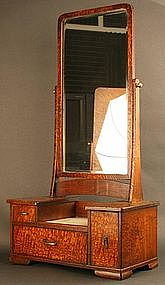 Fine 19th Century Japanese Mirror Chest