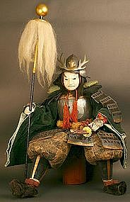 18th Century Fine and Rare Kato Kiyomasa Doll