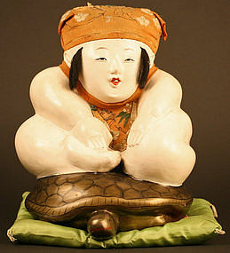 Delightful Japanese Palace Doll of Urashimataro