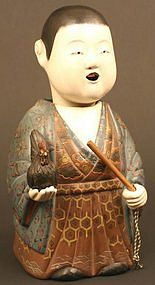 Very Rare and Fine Edo Period Saga Ningyo