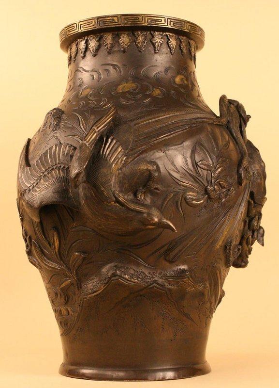 Extraordinary Japanese Antique Bronze Vessel,Edo Period