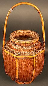 Museum Quality Japanese Basket by Kosuge Chikudo
