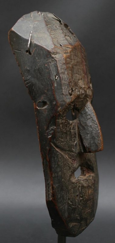 Old and Primitive Nepalese Mask with a Great Patina