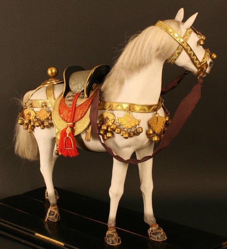 Fine Quality Japanese Boys Day Horse Doll