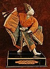 Very Rare 18th Century Isho Ningyo of an Archer