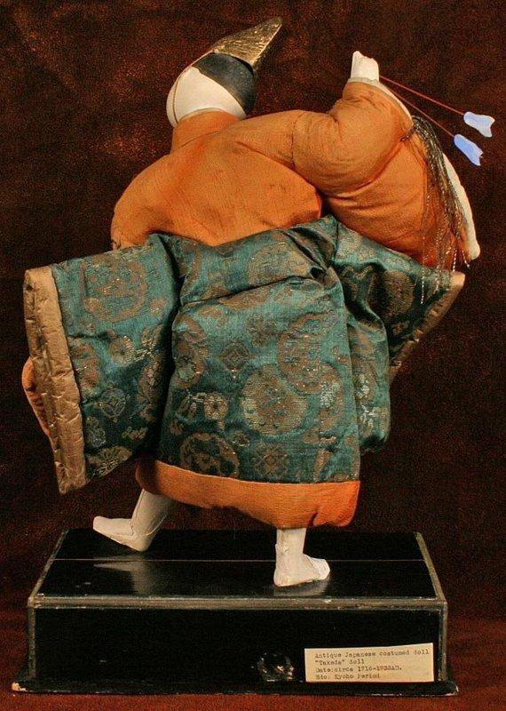 Very Rare 18th Century Isho Ningyo of an Archer