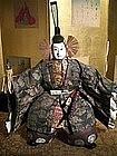 Minamoto no Yoshitsune Musha Ningyo in Court Attire
