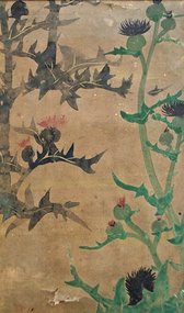 17th Century Early Edo Period Japanese Rimpa Painting
