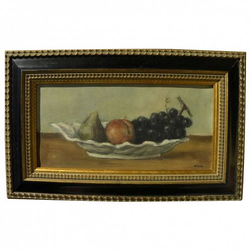 ALEXANDER BROOK (1898-1980) fine elegant small still life painting by well listed American artist