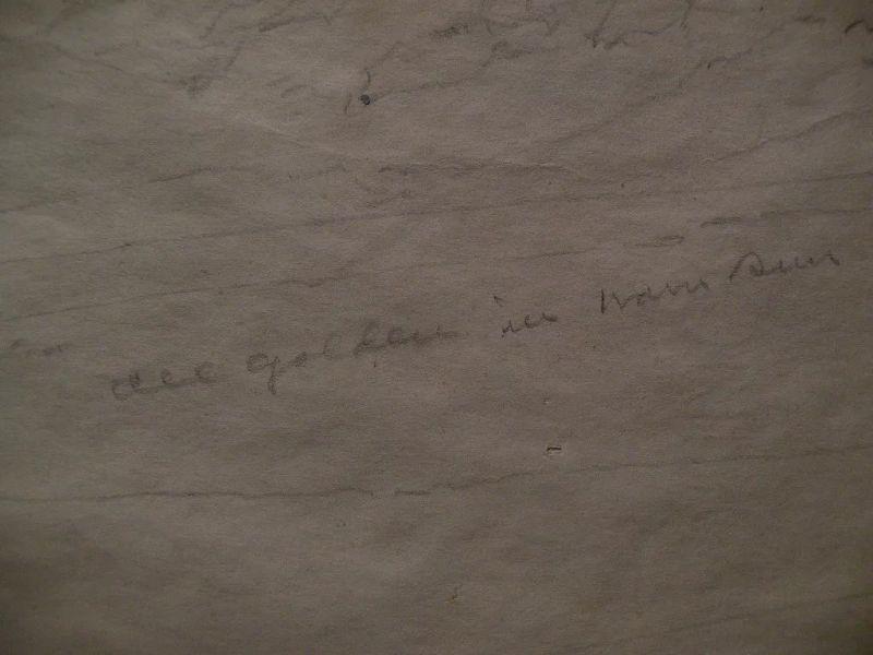 FERNAND HARVEY LUNGREN (1859-1932) Western American art pencil study drawing signed