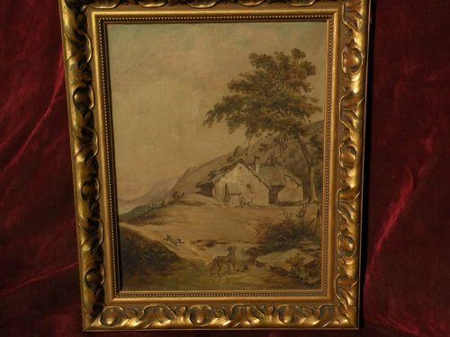PIERRE LOUIS JOSEPH DE CONINCK (1828-1910) 19th century French art landscape painting