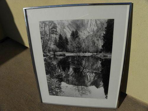 ROBERT WERLING (1946-) black white photograph western America