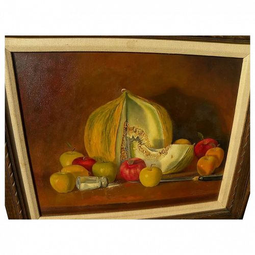 "MARTIN ""Marty"" KATON (1946-) contemporary realism still life painting by acclaimed artist"