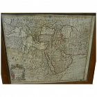 "Antique original 1721 atlas map of ""Turky, Arabia and Persia"" by Georges de l'Isle and John Senex"