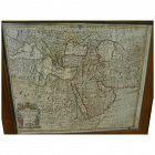 "Antique original 1721 atlas map of ""Turky, Arabia and Persia"" by Georges de l'Isle and John Senex"