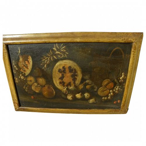 Circa 18th century French or Italian old master still life painting