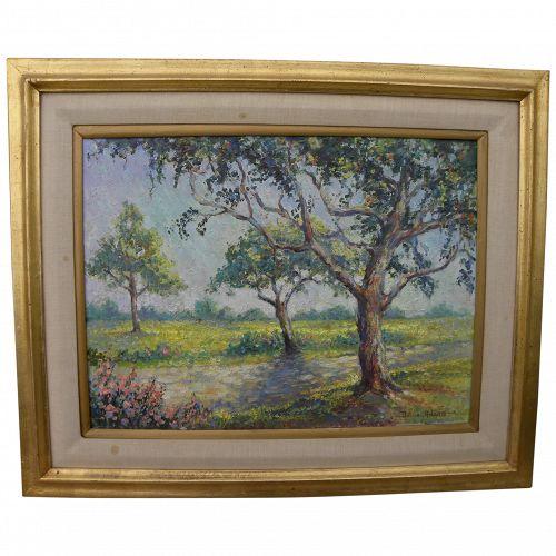 California plein air art impressionist landscape painting by DULCIE ADAMS