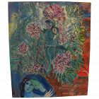Homage to Marc Chagall contemporary oil painting