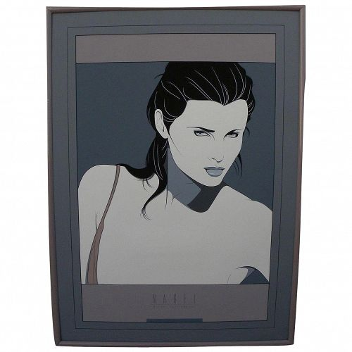 "After PATRICK NAGEL (1945-1984) large Mirage Editions screenprint poster ""Dakota"""