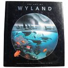 """ROBERT WYLAND (1956-) signed 1992 first edition book """"The Art of Wyland"""""""