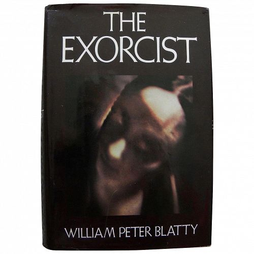 "William Peter Blatty SIGNED copy of 1971 book ""The Exorcist"" autograph"