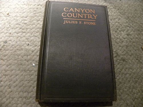"""""""Canyon Country"""" 1932 First Edition book Grand Canyon trip signed"""