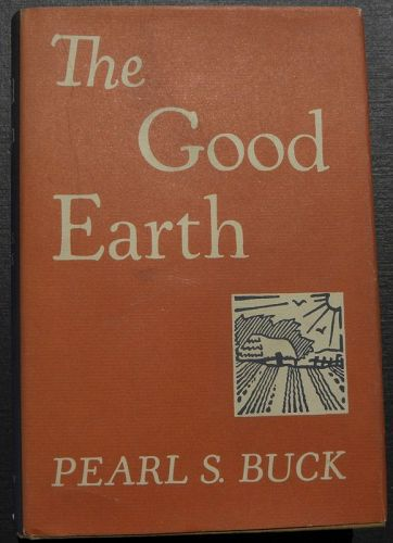 PEARL BUCK (1892-1973) signed inscribed book and letter famous author