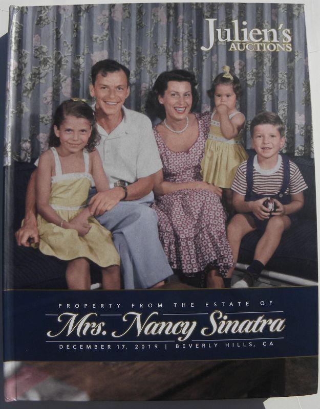 Nancy Sinatra estate Julien's auction catalog