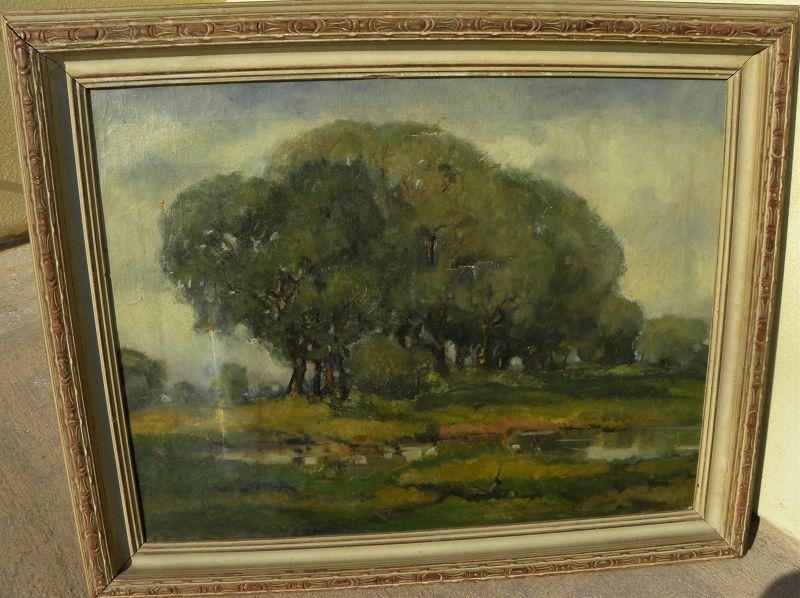 ARTHUR HILL GILBERT (1894-1970) Illinois painting California artist