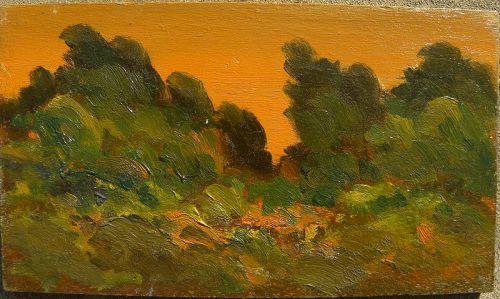 JOHN HENRY RAMM (1879-1948) California art impressionist painting