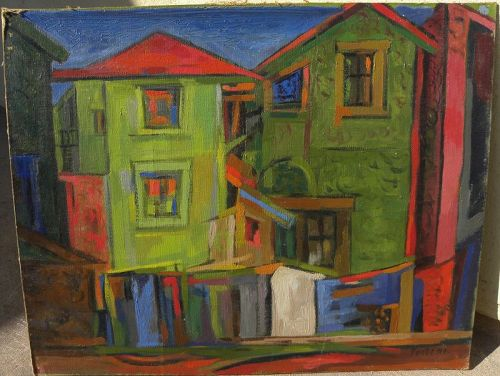 VICENTE FORTE (1912-1980) important Argentine art 1949 painting