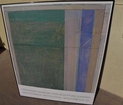 RICHARD DIEBENKORN (1922-1993) vintage museum poster Ocean Park series