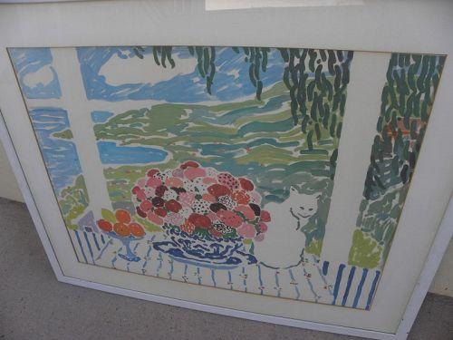JOHN BOTZ (20th century California) impressionist hand signed print