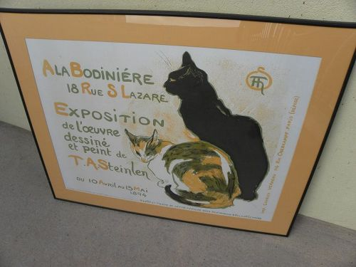 After THEOPHILE STEINLEN (1859-1924) reproduction lithograph print